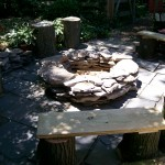 make a stone firepit https://ourfairfieldhomeandgarden.com/the-firepit-project/
