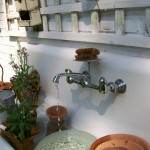 potting sink https://ourfairfieldhomeandgarden.com/everything-including-the-kitchen-sink/