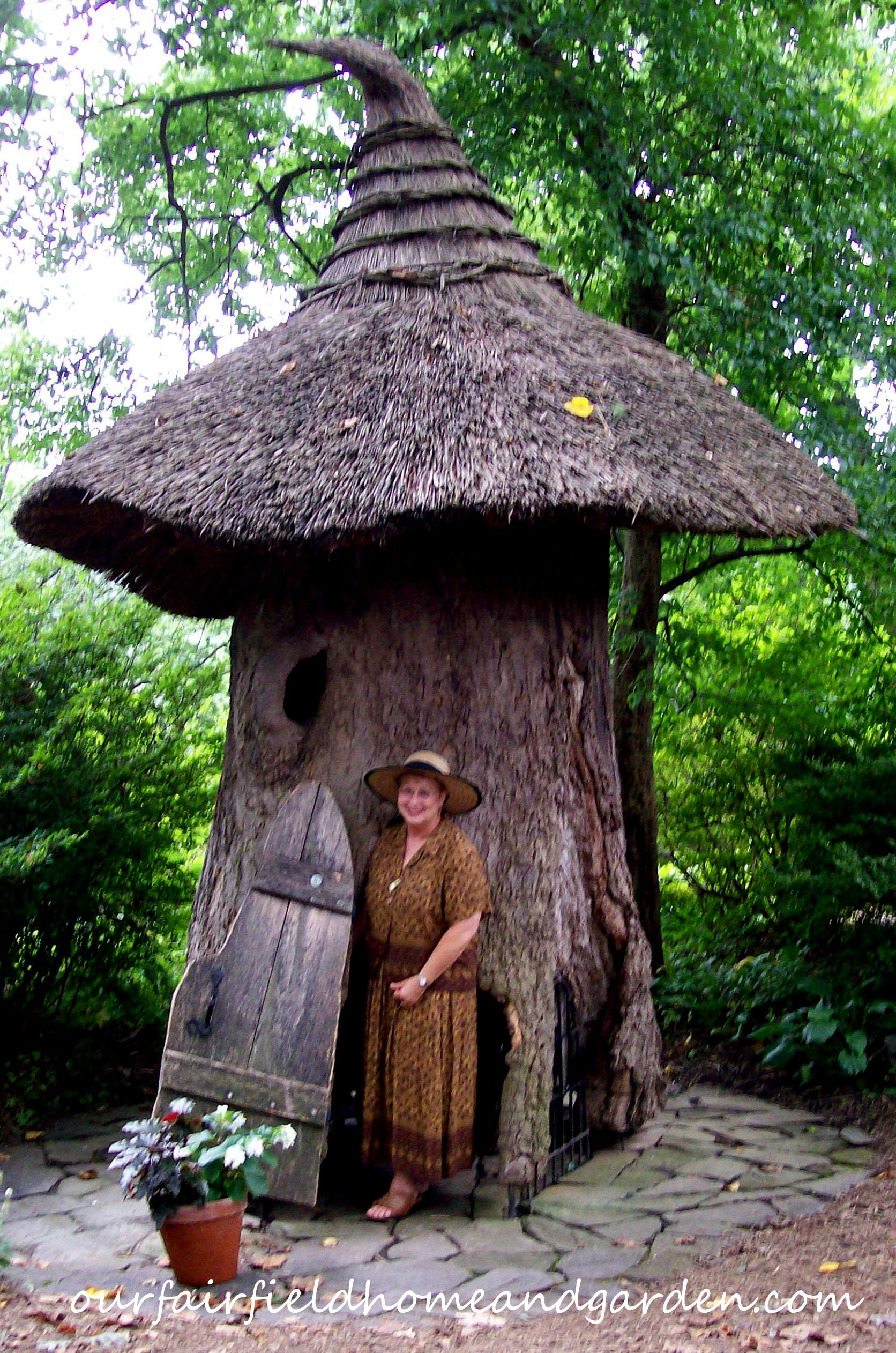 Enchanted Garden: Field Trip: Winterthur's Faerie Garden At Enchanted Woods