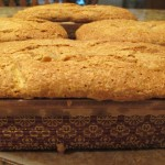 Quick Bread http://ourfairfieldhomeandgarden.com/lovely-peach-bread-with-lavender-sugar-sprinkles/