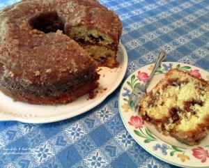 Grandma's Apple Cake http://ourfairfieldhomeandgarden.com/its-apple-season-make-a-heavenly-apple-cake-with-a-sugary-crust-and-make-your-house-smell-divine/