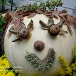 Alisha Acorn Punkin' Head https://ourfairfieldhomeandgarden.com/getting-into-the-spirit-of-halloween-insert-spooky-music-here/