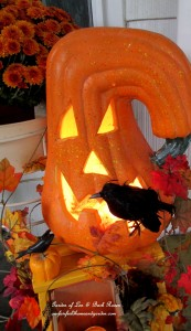 Jack O'Lantern http://ourfairfieldhomeandgarden.com/getting-into-the-spirit-of-halloween-insert-spooky-music-here/