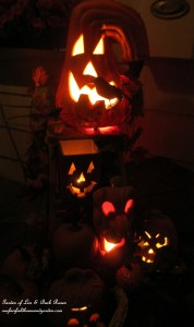 Jack O' Lantern http://ourfairfieldhomeandgarden.com/getting-into-the-spirit-of-halloween-insert-spooky-music-here/