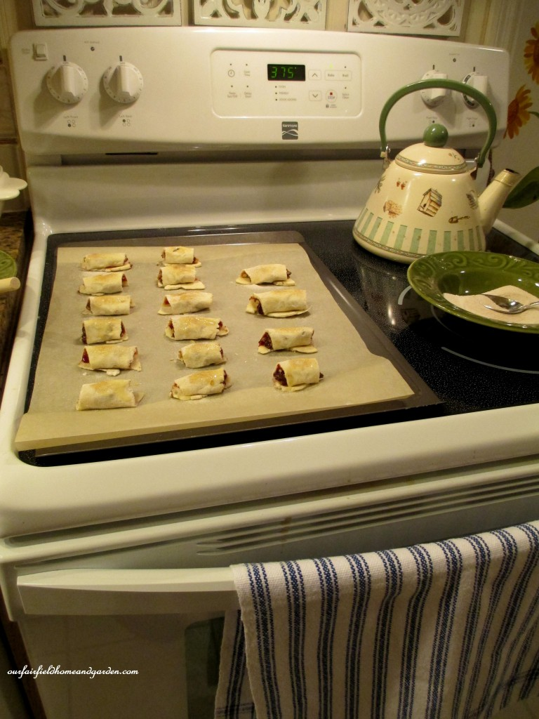 cookies sprinkled with sugar and ready to bake http://ourfairfieldhomeandgarden.com/chanukah-recipes-to-die-for/