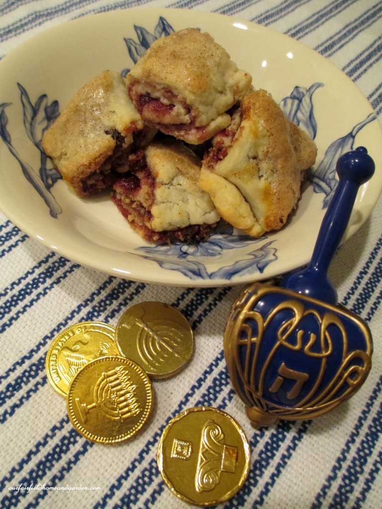 Rugelach cookies ready to enjoy! http://ourfairfieldhomeandgarden.com/chanukah-recipes-to-die-for/