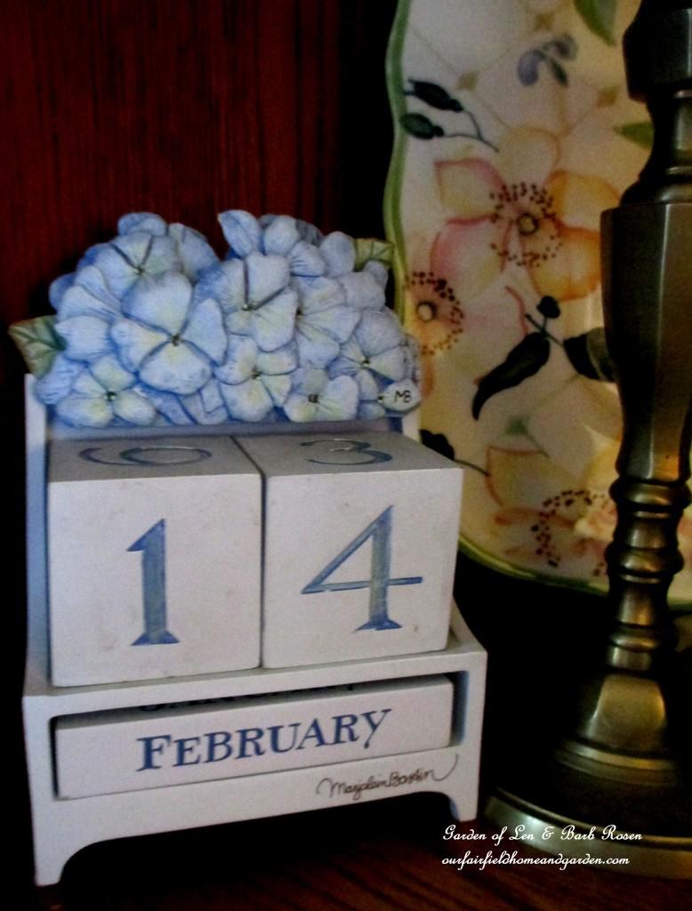 Valentine's Day ~ February 14th https://ourfairfieldhomeandgarden.com/be-my-valentine-valentine-decor/