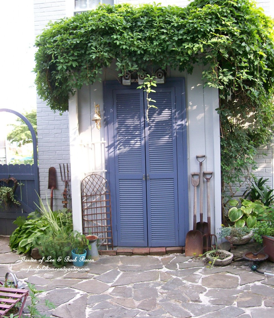 The Garden Shed http://ourfairfieldhomeandgarden.com/a-trip-down-memory-lane-my-former-garden/