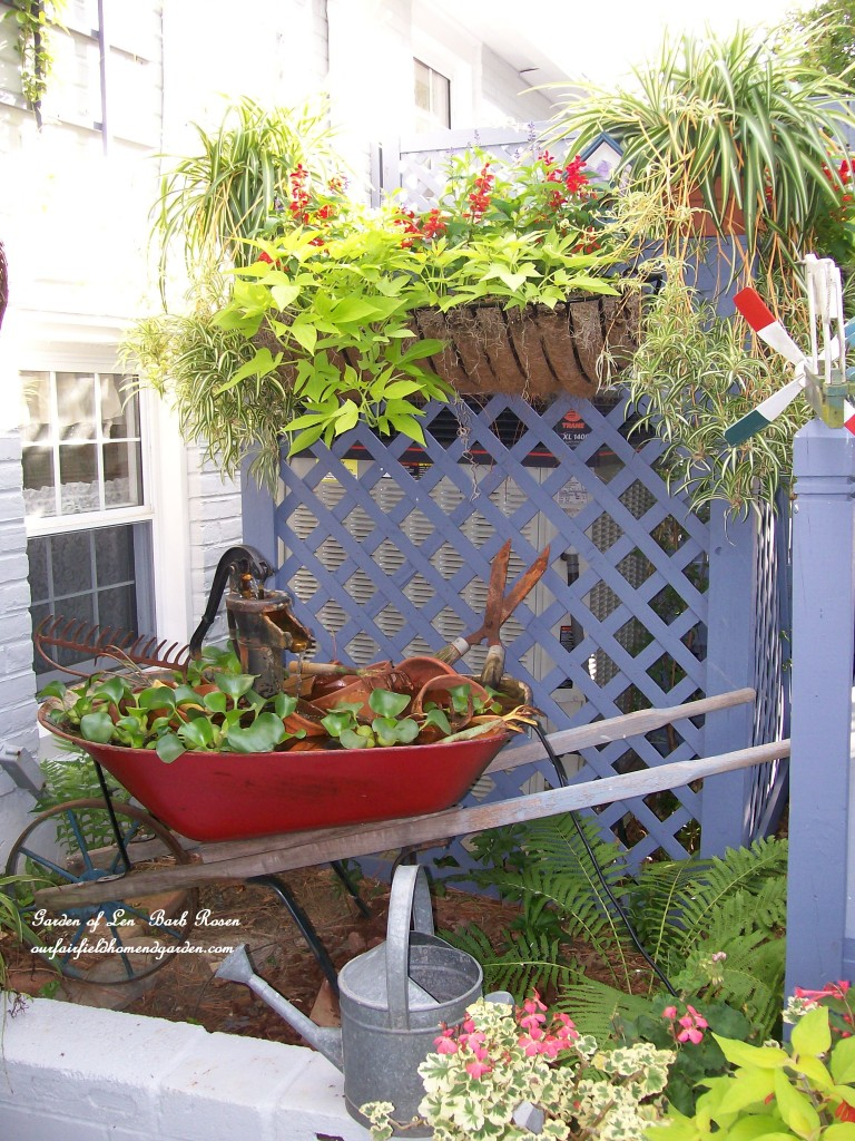 wheelbarrow water garden https://ourfairfieldhomeandgarden.com/a-trip-down-memory-lane-my-former-garden/