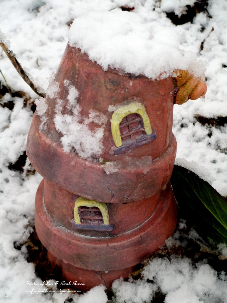 Fairy House for rent http://ourfairfieldhomeandgarden.com/spring-snow-march-25th-the-groundhog-lied/