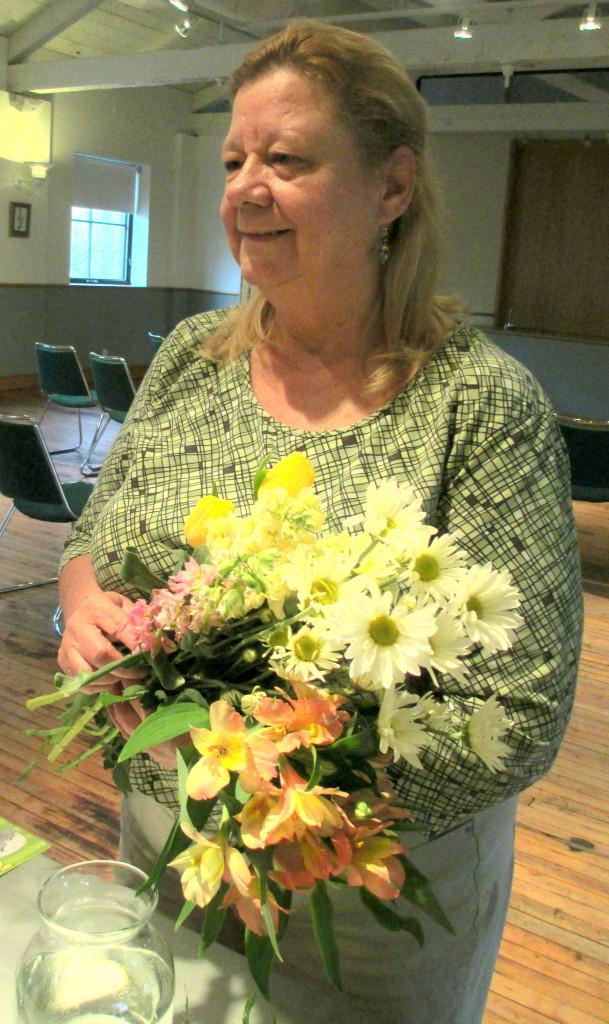 floral arranging instructor ~ Brenda Tunis