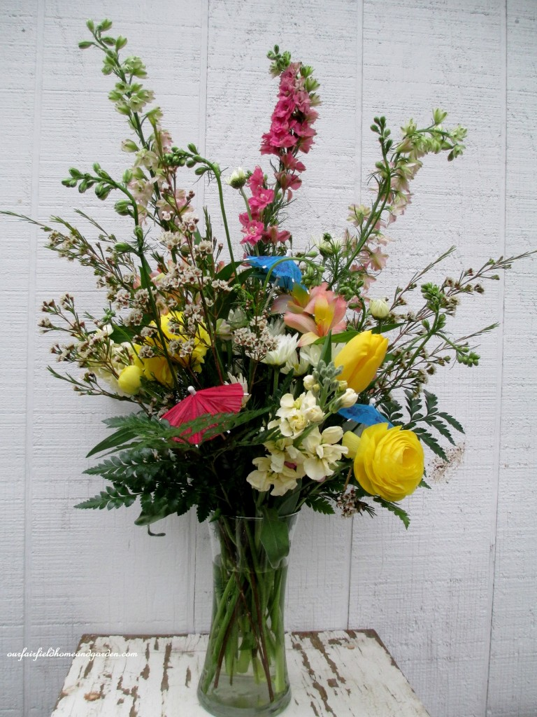 April Showers Gathering Vase