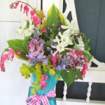 May Day Basket https://ourfairfieldhomeandgarden.com/diy-project-gather-flowers-for-a-may-day-basket/