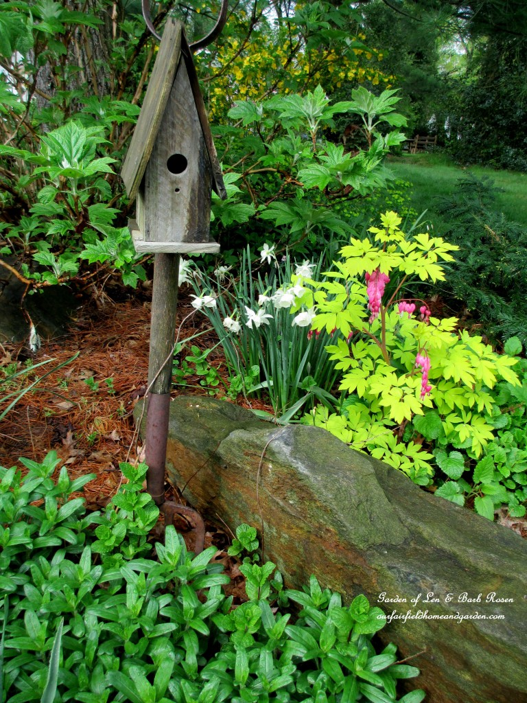 front driveway flower bed http://ourfairfieldhomeandgarden.com/the-merry-merry-month-of-may/