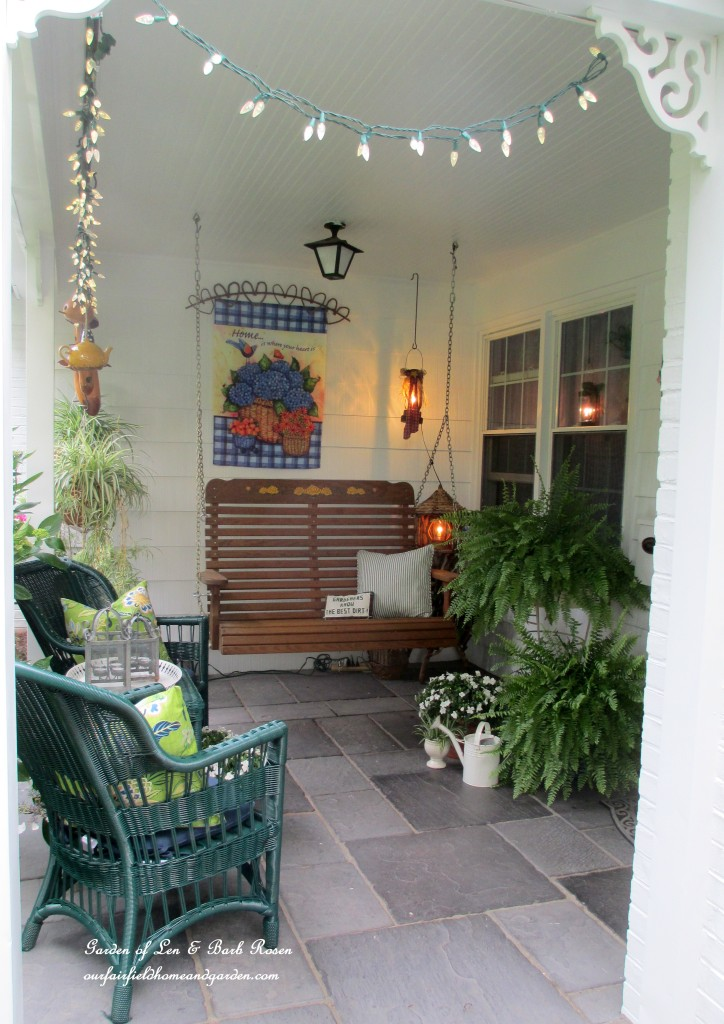 ~ our summer porch ~