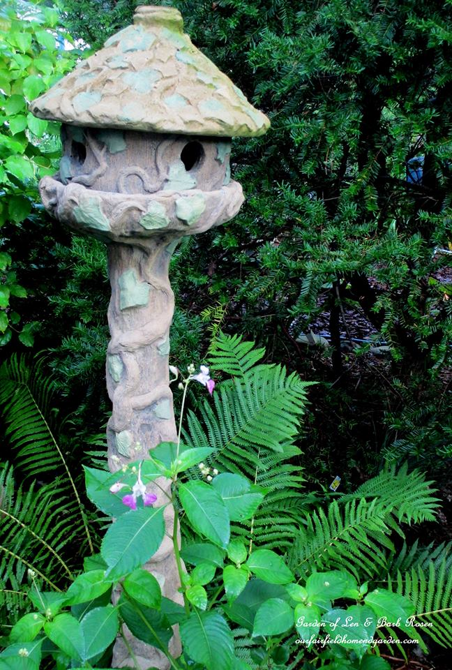 Concrete Birdhouse