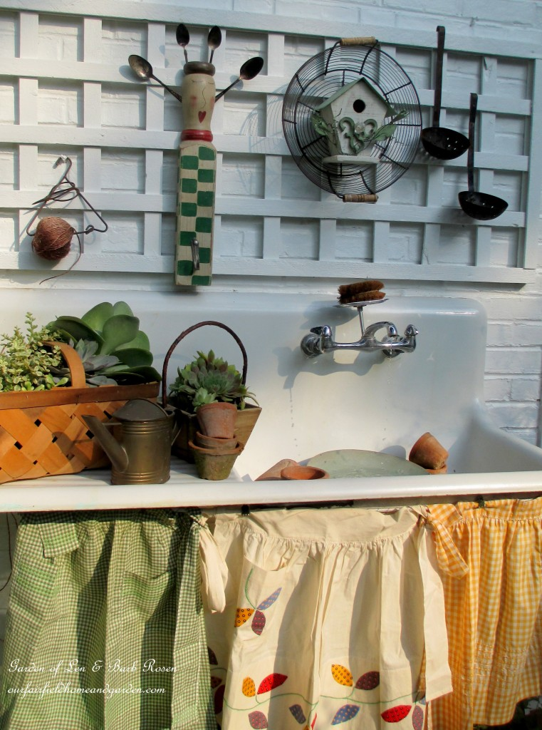 Summer Potting Sink