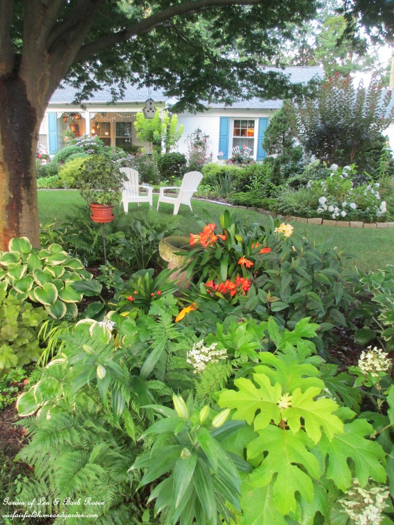 front shady garden bed https://ourfairfieldhomeandgarden.com/garden-walk-my-summer-garden/