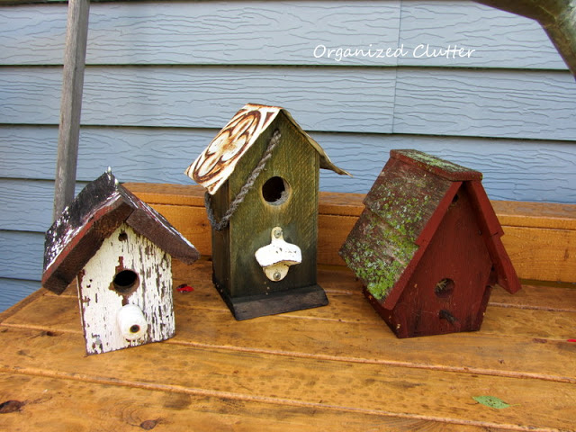 Birdhouses ~ Organized Clutter
