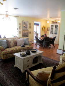 After ~ current with better flow http://ourfairfieldhomeandgarden.com/livingroom-makeover-grandma-to-grandeur/