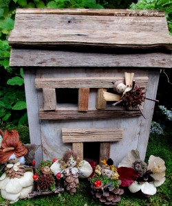 Fairies at home http://ourfairfieldhomeandgarden.com/diy-project-fairies-for-free/