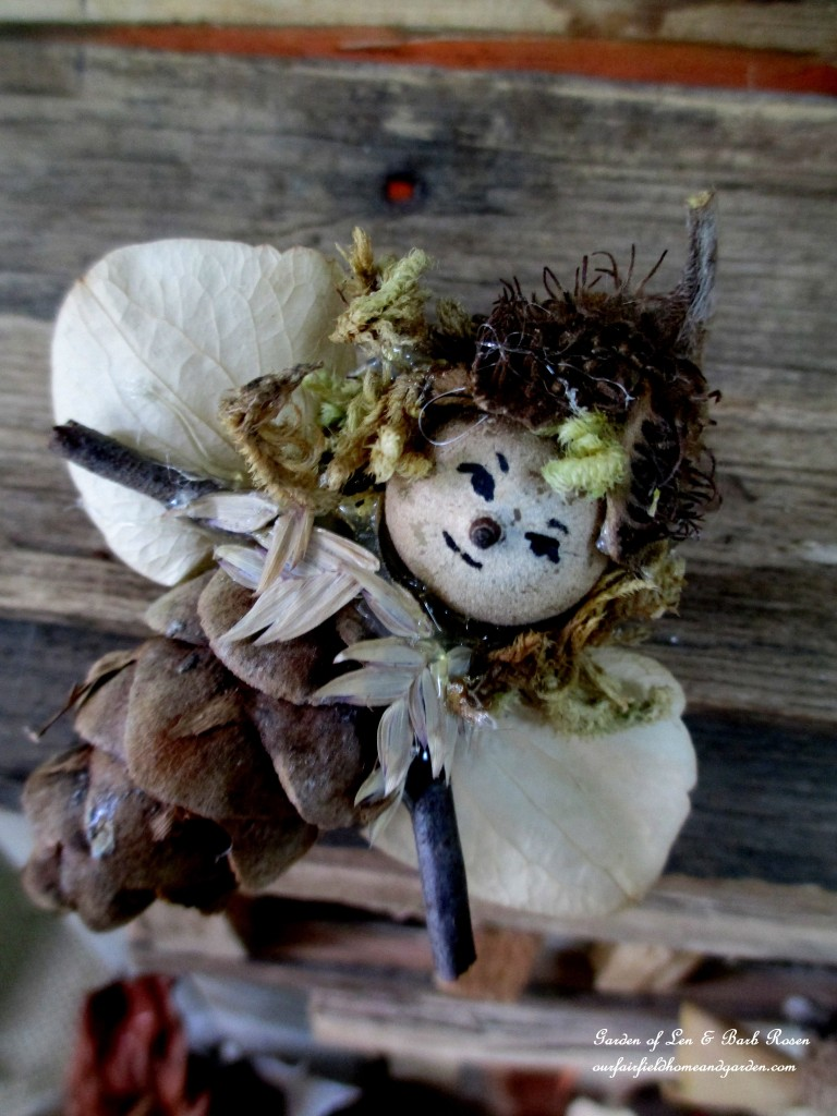 Little Imp Fairy http://ourfairfieldhomeandgarden.com/diy-project-fairies-for-free/