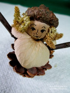 Step 4 ~ add hair http://ourfairfieldhomeandgarden.com/diy-project-fairies-for-free/