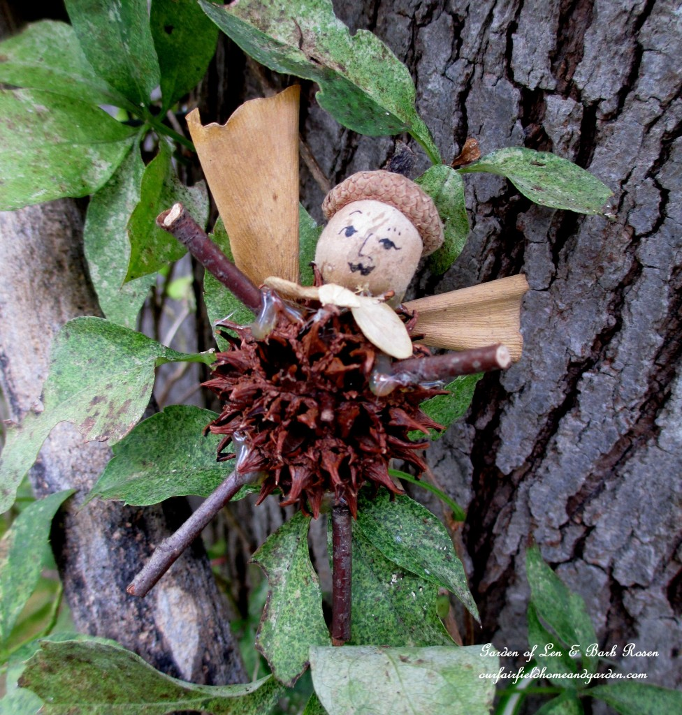 Freddy Fairy http://ourfairfieldhomeandgarden.com/diy-project-fairies-for-free/