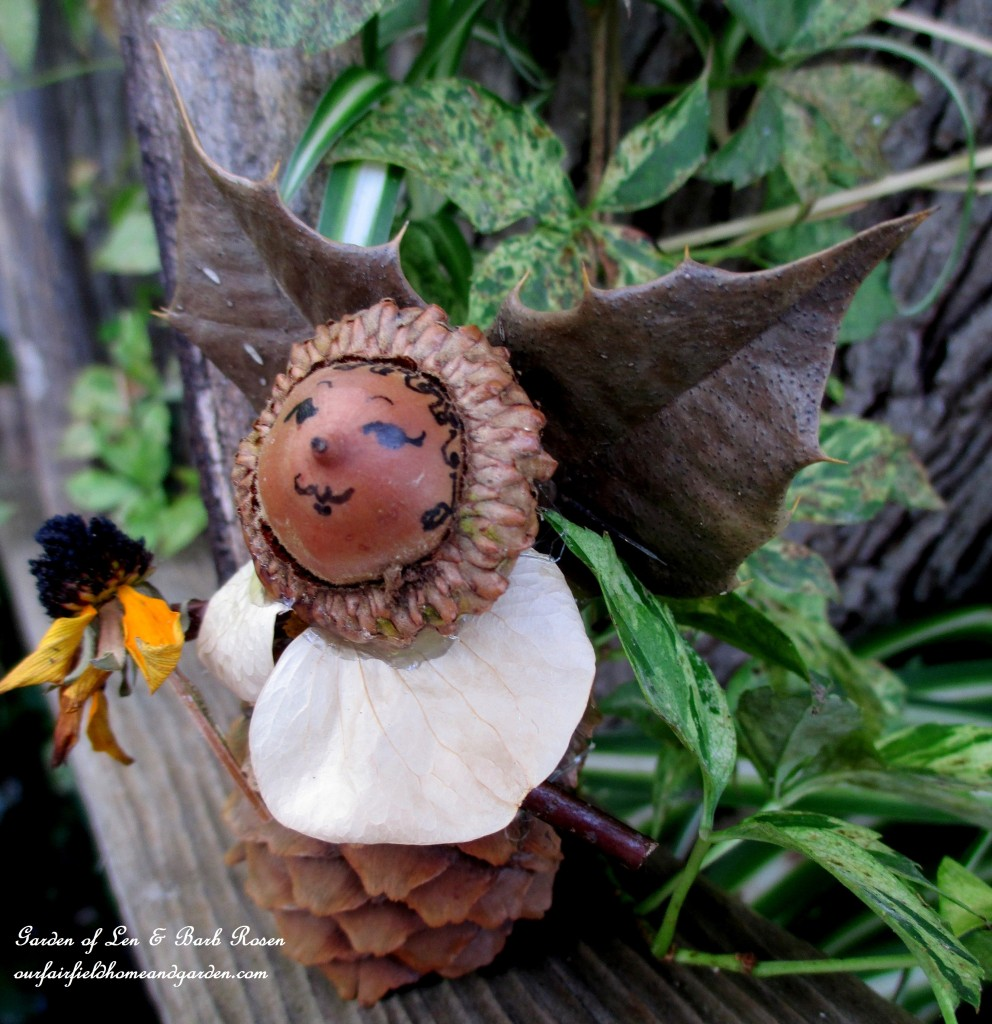 Holly Fairy http://ourfairfieldhomeandgarden.com/diy-project-fairies-for-free/