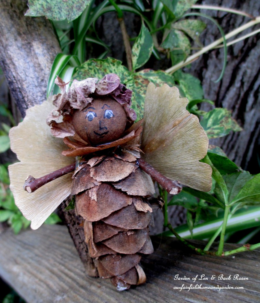 Mr. Randolph http://ourfairfieldhomeandgarden.com/diy-project-fairies-for-free/