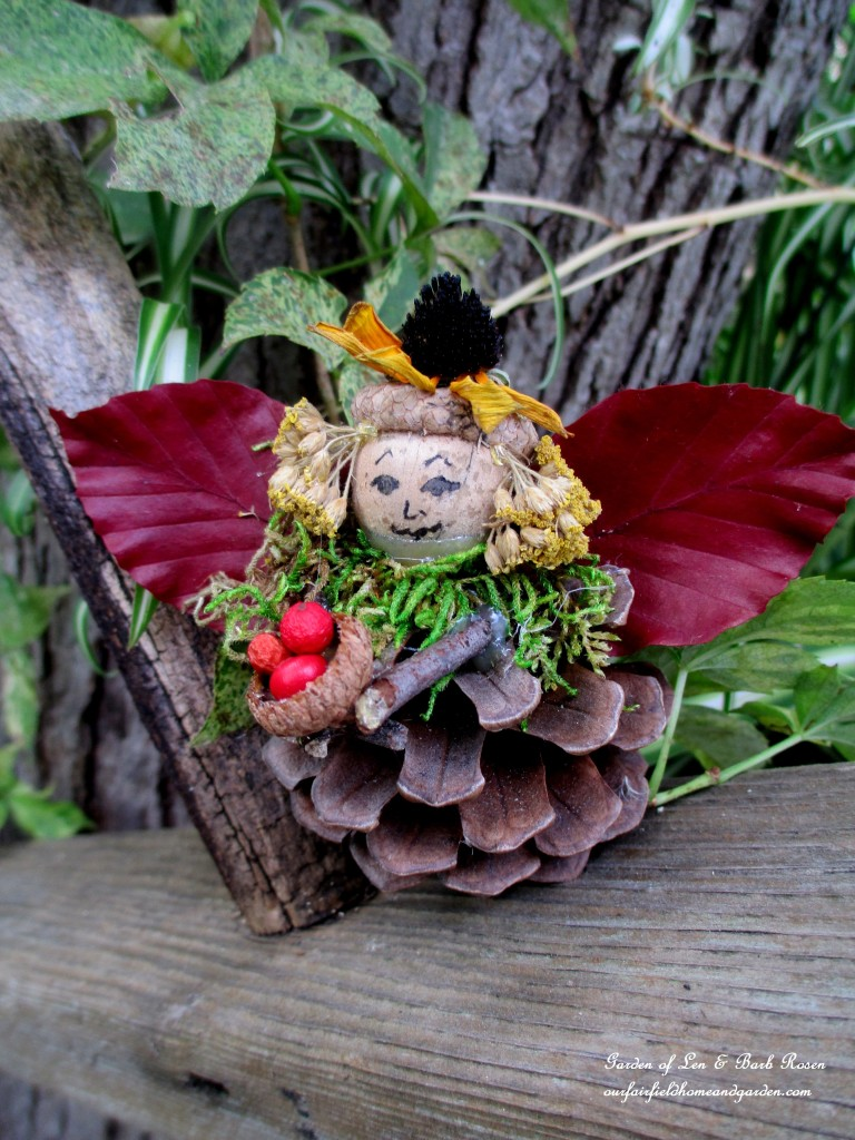 Carla ~ the cooking fairy http://ourfairfieldhomeandgarden.com/diy-project-fairies-for-free/