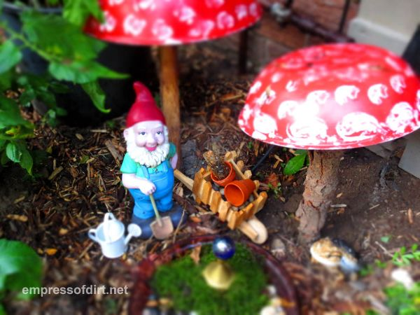Of course, you might have a gnome take up residence in your garden like The Empress of Dirt! Click here to read all about it!