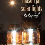 Mason Jar Solar Lights * click it !