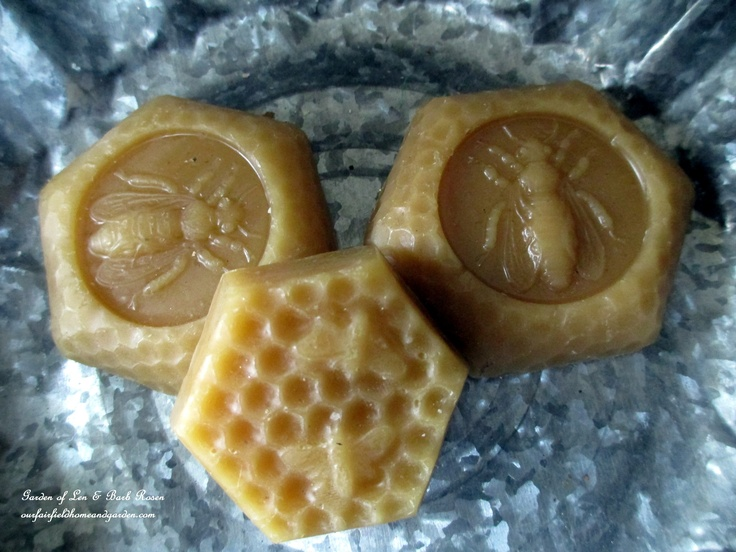 beeswax from a local beekeeper http://ourfairfieldhomeandgarden.com/diy-tucking-the-garden-in-for-the-winter-at-our-fairfield-home-garden/