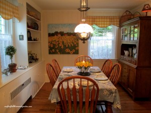 After ~ Country French  https://ourfairfieldhomeandgarden.com/restaging-our-country-french-dining-room/
