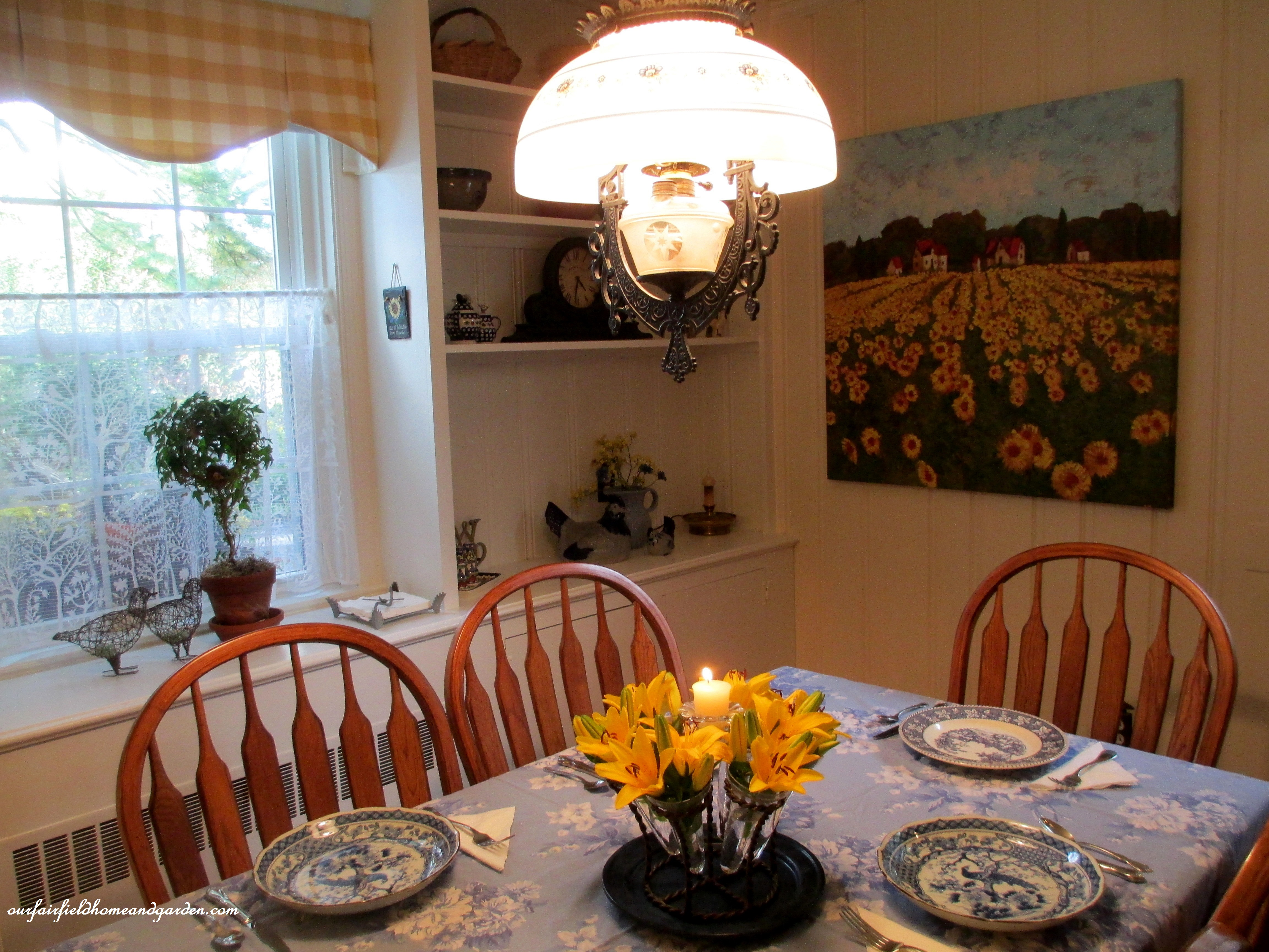 restaging ~ our country french dining room | our fairfield home