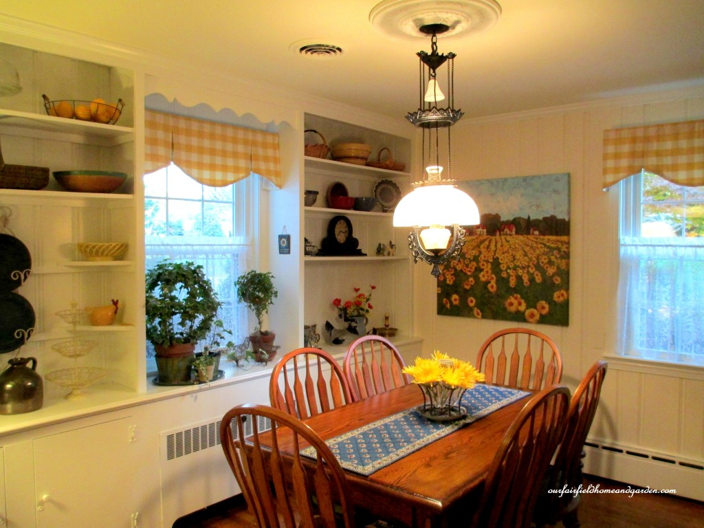 Country French Kitchen Restaging  http://ourfairfieldhomeandgarden.com/restaging-our-country-french-dining-room/