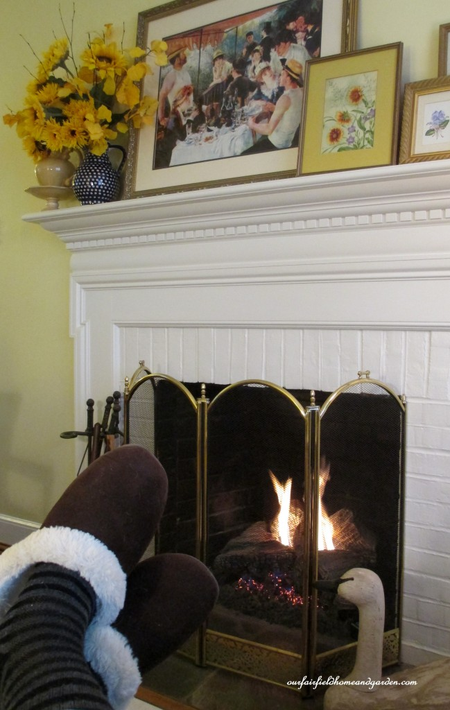 feet by the fire http://ourfairfieldhomeandgarden.com/winter-comforts-at-our-fairfield-home-garden/