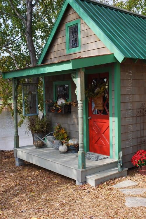 potting shed http://www.hometalk.com/homeiswheretheboatis