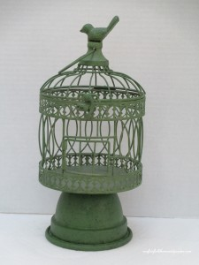 Pinterest-inspired Birdcage Project http://ourfairfieldhomeandgarden.com/a-michaels-hometalk-pinterest-party-come-be-my-guest/