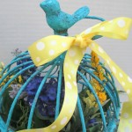 birdcage centerpeice http://ourfairfieldhomeandgarden.com/a-michaels-hometalk-pinterest-party-come-be-my-guest/