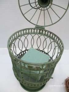 Pinterest-inspired birdcage project