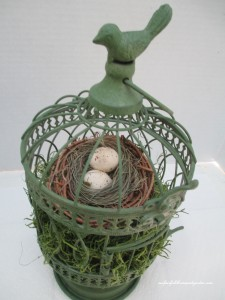Pinterest-inspired Birdcage http://ourfairfieldhomeandgarden.com/a-michaels-hometalk-pinterest-party-come-be-my-guest/