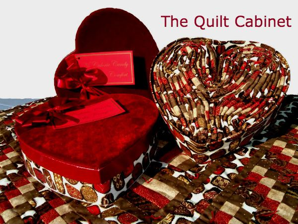 heart quilts http://magictouchandhergardens.wordpress.com/2013/12/29/no-calorie-candy-with-all-the-comfort/