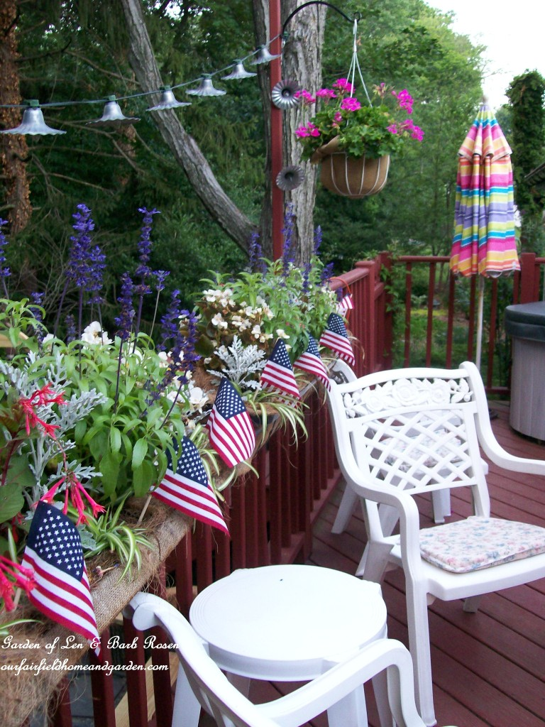 red, white & blue http://ourfairfieldhomeandgarden.com/patriotic-party-time-a-wonderful-give-a-way/