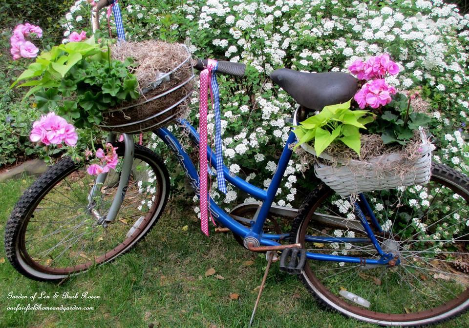 Bike Planter