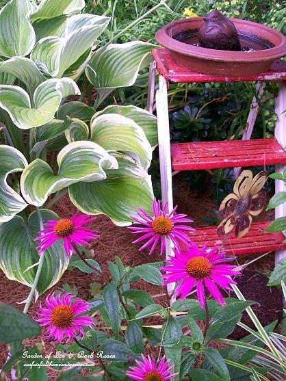5-Minute Birdbath https://ourfairfieldhomeandgarden.com/diy-bird-baths-bring-birds-to-your-garden/