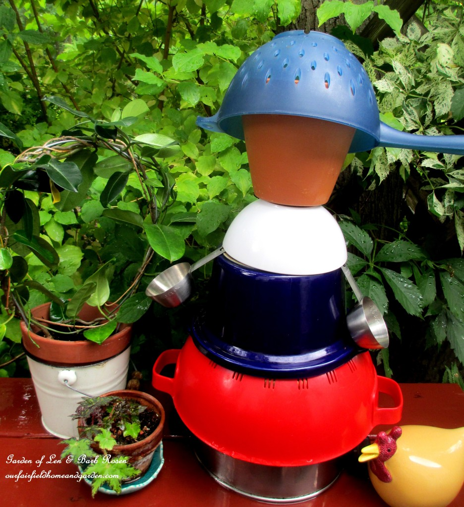 Kitchen Man Garden Accent https://ourfairfieldhomeandgarden.com/kitschy-kitchen-garden-accents/