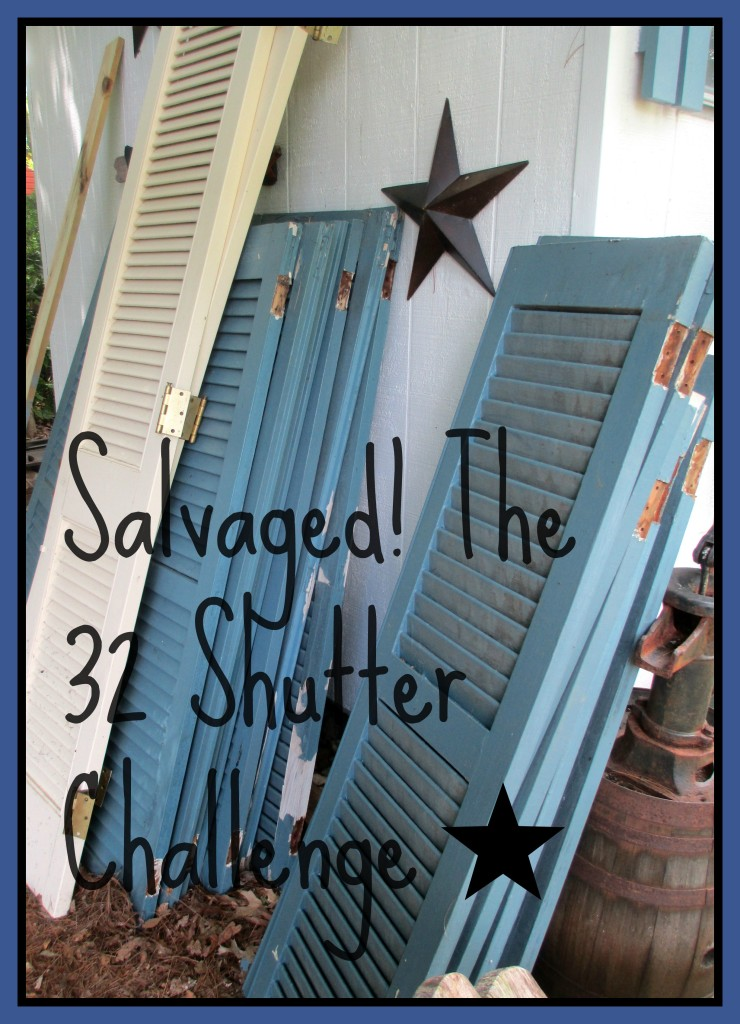Shutter Challenge http://ourfairfieldhomeandgarden.com/salvaged-the-32-shutter-challenge-repurposing-shutters-in-the-garden/