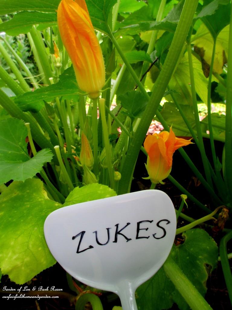 Spatual Garden Marker http://ourfairfieldhomeandgarden.com/kitschy-kitchen-garden-accents/
